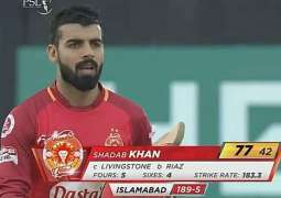 Peshawar Zalmi won the toss, chose to bowl first against Islamabad United