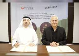 German group Schüco signs lease deal with SAIF Zone