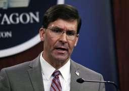 US Secretary of Defense Mark Esper is likely to visit Pakistan
