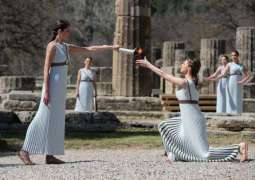 Tokyo 2020 Olympic Flame Lit in Greece as COVID-19 Pandemic Threatens Cancellation