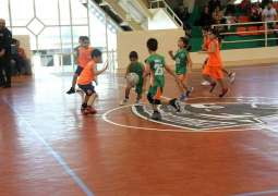 Al Nasr take the lead in U-10 category of DSC Youth Basketball Championship