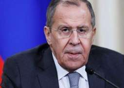 Russian Foreign Minister Talks Mideast Peace With Palestinian Organization Official
