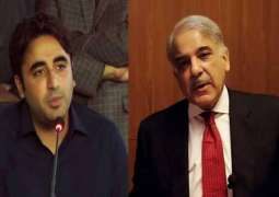 Shehbaz, Bilawal walk out from  parliamentary meeting on Coronavirus through video link