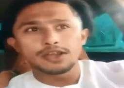 القبض علي شاب آسیوي یحرض الناس علي الخروج و مخالفة تعلیمات للوقایة من کورونا في دبي