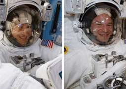 Departing ISS Crew to Give Prelaunch Briefing Online for 1st Time on April 8