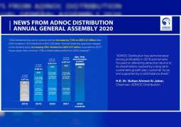 ADNOC Distribution hosts virtual annual General Assembly, announces dividend increase to AED2.57 billion in 2020