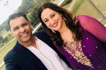 "Waqar Younas calls her doctor wife ""Hero"" for fighting against Coronavirus"