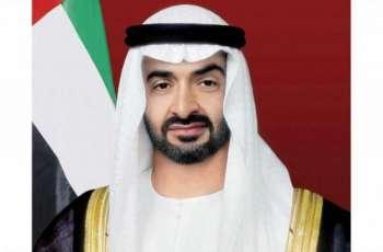 """محمد بن زايد يوجه دائرة الصحة في أبوظبي بإنشاء مراكز مسح """"من المركبة"""" لفحص فيروس """"كورونا"""" على مستوى الدولة"""