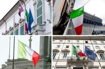 Italy Observes Moment of Silence, Flies Flags at Half-Mast for COVID-19 Victims