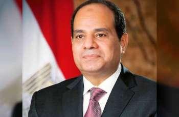 الرئيس المصري: الإجراءات المتبعة في مواجهة كورونا تدعو للاطمئنان
