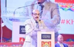 AJK President urges global community to help resolve Kashmir issue