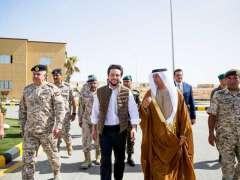 Jordanian Crown Prince opens Sheikh Mohamed bin Zayed Training City in Zarqa