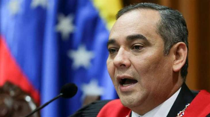 US Charges Venezuela's Chief Justice Moreno With Money Laundering - Justice Dept.