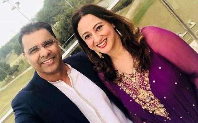 """Waqar Younas calls her doctor wife """"Hero"""" for fighting against Coronavirus"""