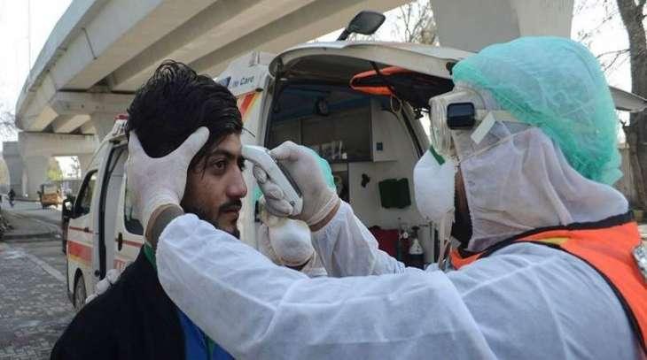 ارتفاع حصیلة الاصابات بفیروس کورونا في باکستان الي 1870 حالة بعد تسجیل 95 حالة جدیدة