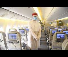 Emirates steps up safety measures for customers and employees at the airport and on board