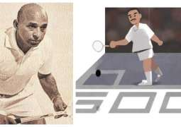 Google doodle pays tribute to Squash Champion Hashim Khan