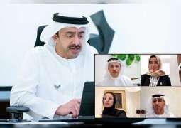 عبدالله بن زايد يترأس اجتماعات عن بعد لمجلس التعليم والموارد البشرية