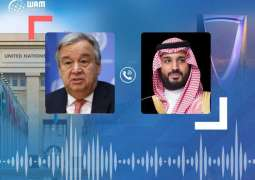 UN Secretary-General expresses gratitude for Saudi aid to Yemen