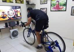DSC organises five-day Virtual Cycling Challenge