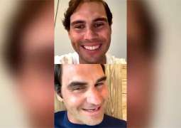 Nadal chat live for the first time with Roger Federal, Murray