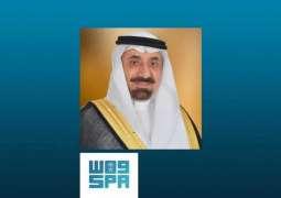 أمير نجران ينقل في رسالة صوتية مباركة القيادة بشهر رمضان لأهالي ومسؤولي المنطقة