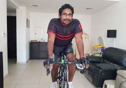Gangadharan takes top spot in Dubai Sports Council's Virtual Tour Challenge