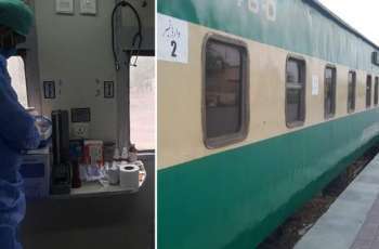 Pakistan Railways converts some coaches into isolation wards in fight against Coronavirus