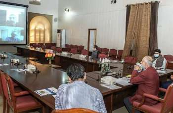 UVAS hold consultative stakeholder video conference on Challenges of efficient food supply chain ofdairy, poultry and meat in Punjab during COVID-19 Emergency