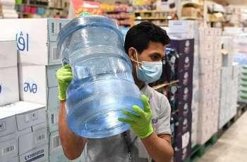 محال تعبئة مياه الشرب بجدة ملتزمة بتطبيق الاجراءات الاحترازية من فايروس كورونا