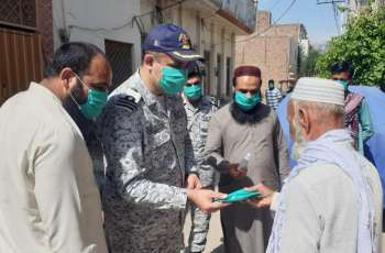 Pakistan Navy Distributes Ration In Coastal Areas & Various Cities Across The Country During Ongoing Pandemic Of Coronavirus