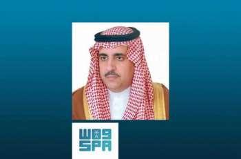 وكيل إمارة منطقة الرياض ينوه بأمر خادم الحرمين الشريفين بتحمل الحكومة 60% من رواتب موظفي القطاع الخاص السعوديين
