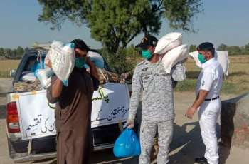 Pakistan Navy Nationwide Humanitarian Assistance During Lockdown Continues