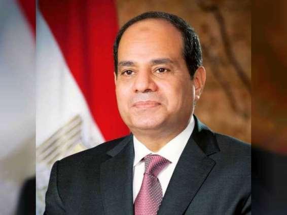الرئيس المصري يبحث مع عدد من الوزراء مكافحة فيروس كورونا