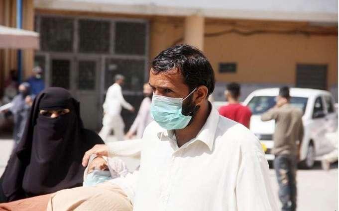باکستان تسجل ارتفاع الاصابات بفیروس کورونا الي 2419 حالة