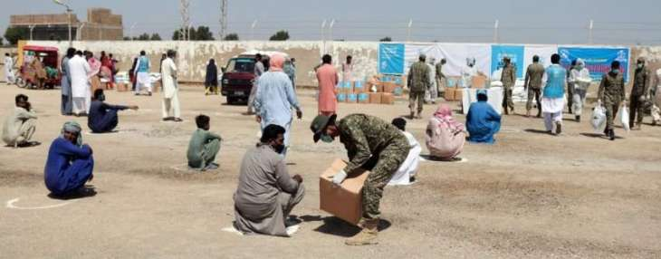 Pakistan Navy Supports Indigent Populace Amid Pandemic Lockdown