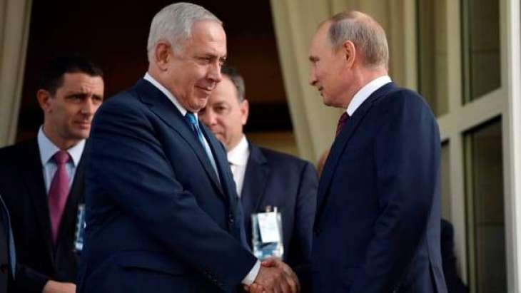 Netanyahu Says Discussed With Putin Reciprocal Return of Citizens Amid Pandemic