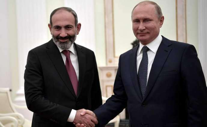 Putin, Armenian Prime Minister Discuss COVID-19 Fight Over Phone - Kremlin