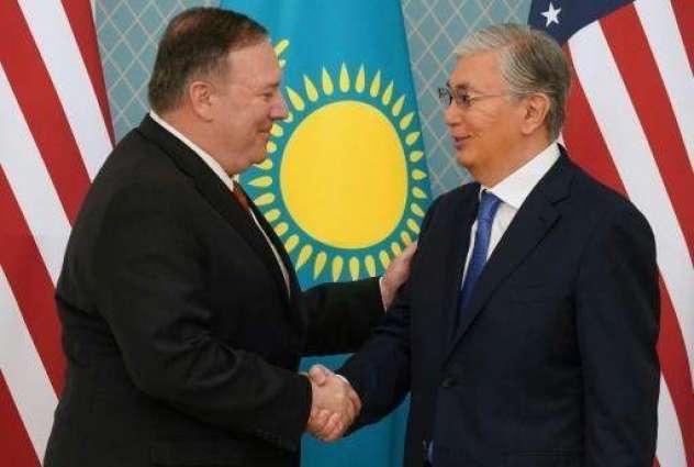 Pompeo, Kazakhstan President Discuss Cooperation in Coronavirus Fight - State Department