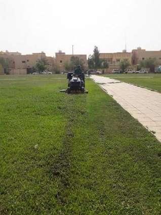 بلدية محافظة رفحاء تنفذ وتستمكل عدداً من المشروعات التنموية بالمحافظة