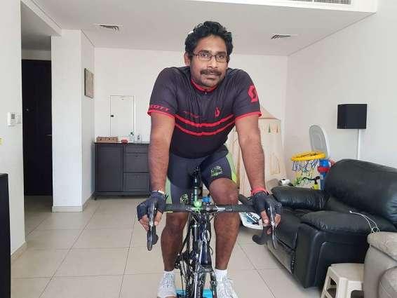 Gangadharan takes top spot in Dubai Sports Council's Virtual Tour Challenge