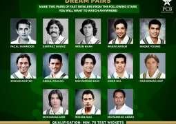 Shoaib Akhtar chooses Naseem Shah as his bowling partner in Dream Pairs series