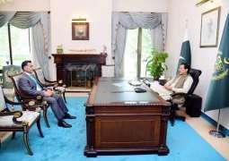 ISI DG Gen Faiz Hamid calls on PM