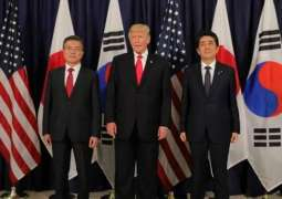 S. Korea, Japan, US to Hold Security Talks on May 13 - Reports