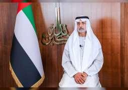 Nahyan bin Mubarak Al Nahyan leads religious leaders in prayer for saving humanity
