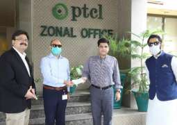 PTCL's Coronavirus support and relief package for Shaukat Khanum Research Center