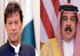 رئیس وزراء باکستان عمران خان یجري اتصالا ھاتفا مع ملک مملکة البحرین
