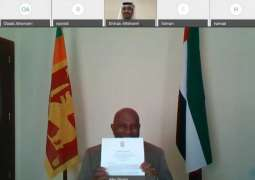 MoFAIC receives copy of credentials of new Ambassador of Sri Lanka to UAE