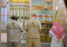 المسجد النبوي يشهد ختم القرآن الكريم