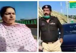 Woman who misbehaved with police officials booked in Mansehra